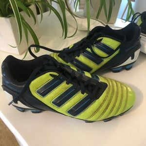 Adidas Predator Soccer Cleats Youth Green Size 4